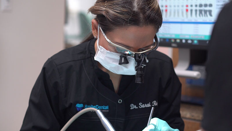 Dentist Working